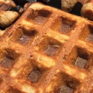 Waffle Banana Bread