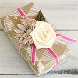 Brown Paper Packages Tied Up With Ribbon
