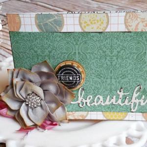 Beautiful Friends Card