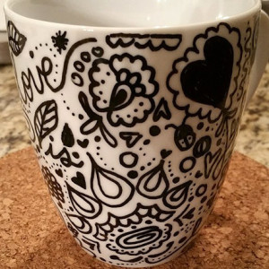 DIY Doodling Mug