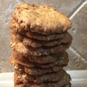 Walnut Crisp Cookies