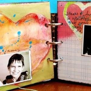 Using Maya Mist To Create Painterly Hearts