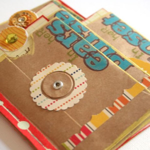 Krafty Envelopes Mini Album