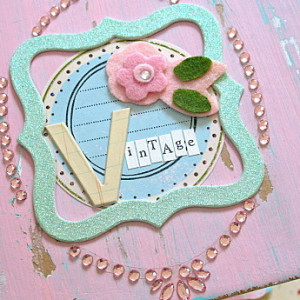Shabby, Chippy Paint Look On Chipboard