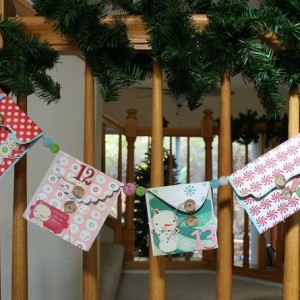 Christmas Countdown Advent Calendar Banner