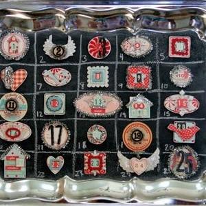 Silver Tray Advent Calendar