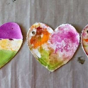 Heart Canvas + Maya Mists