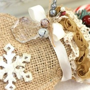 Christmas Mitten Gift Sack