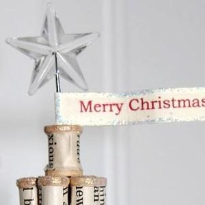 Spool Christmas Tree