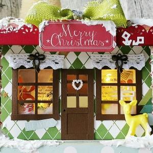 Christmas Shop Decor
